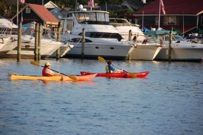 Aida's Victoriana Inn Kayaking