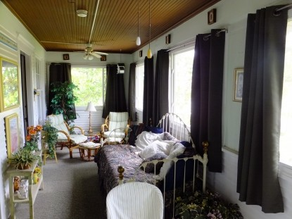 The Dickey House Bed & Breakfast, Ltd-The Heritage Room Screened Porch