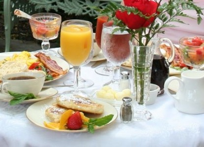 1840s Carrollton Inn-Breakfast