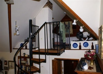 Ebenezer House Bed and Breakfast stairs