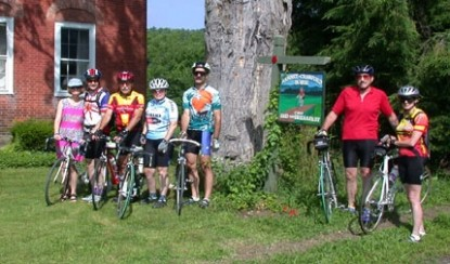 Ranney-Crawford House-Bike Riders