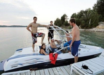 Torch Lake Bed & Breakfast-Boat