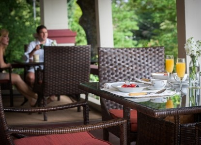 Craftsman Inn, Calistoga, California, breakfast