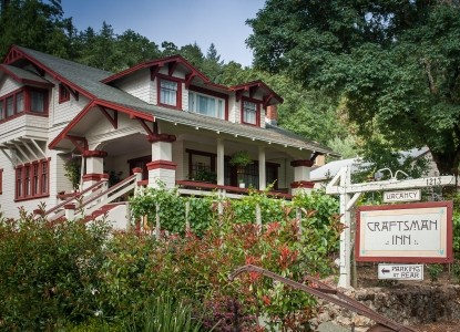 Craftsman Inn, Calistoga, California, front