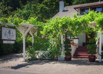 Calistoga Wine Way Inn front