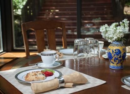 Calistoga Wine Way Inn breakfast