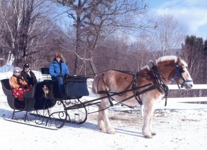Farm by the River Bed and Breakfast with Stables-Sleigh Ride