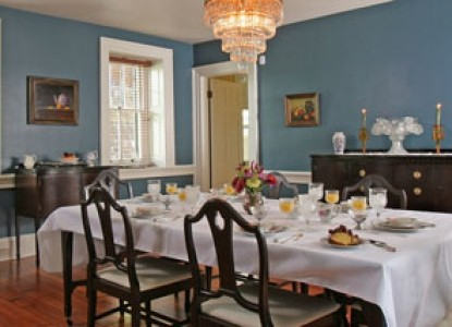 Speedwell Forge B&B blue dining room