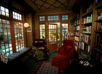 The Bissell House Bed & Breakfast, South Pasadena, California, study