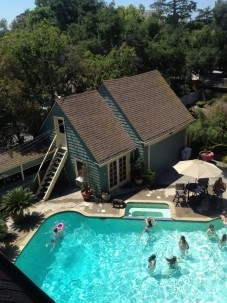 The Bissell House Bed & Breakfast, South Pasadena, California, pools