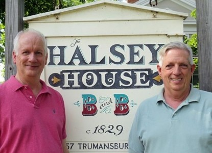 Halsey House Bed and Breakfast innkeepers