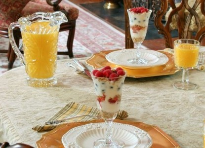 Halsey House Bed and Breakfast parfaits