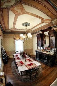 The Harrison Inn, ceiling
