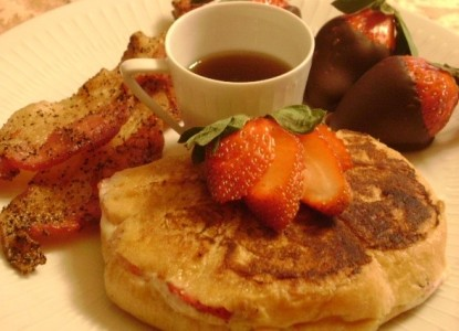 Nicolin Mansion Bed & Breakfast, breakfast