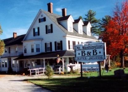 The Mt. Washington Bed & Breakfast front of inn