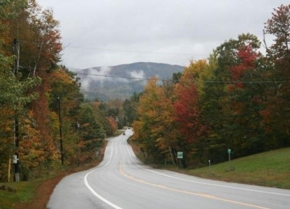 The Mt. Washington Bed & Breakfast road