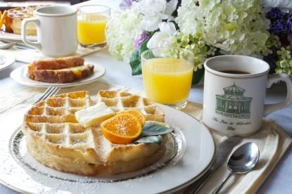 Inn at Aberdeen Bed & Breakfast, Valparaiso, Indiana, breakfast