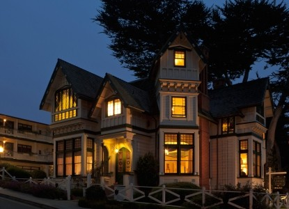 With a spectacular setting at water's edge, this 1888 Queen Anne Victorian is perhaps the most beautiful & famous inn in CA.