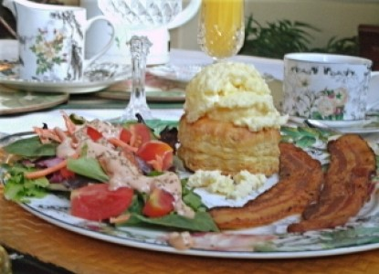 Abbington Green Bed & Breakfast Inn breakfast