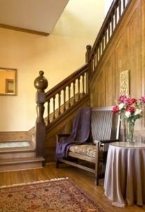 Prospect Hill Bed & Breakfast Inn Stairway