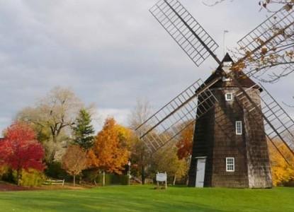 Mill House Inn, windmill