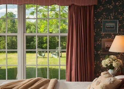 Chesterfield Inn Bedroom View