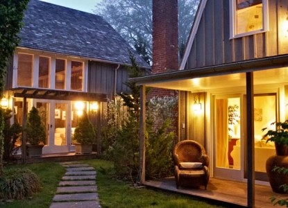 Mill House Inn, courtyard