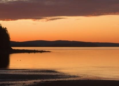 Pentagoet Inn B&B sunset