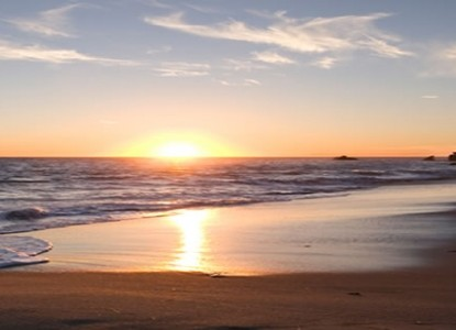 The Shearwater Inn - East Quogue, New York, sunset