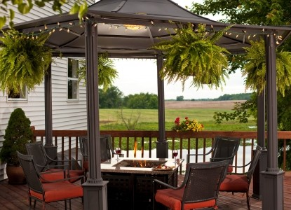Castle in the Country Bed & Breakfast Inn-Outdoor seating