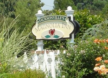 Jacksonville's Magnolia Inn inn sign