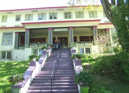 The Terrace Inn & 1911 Restaurant stairs