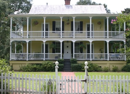 Bed and Breakfast of Summerville, front view