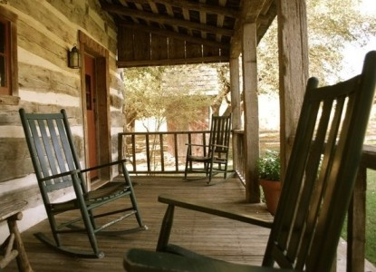Settlers Crossing Bed and Breakfast Rocking Chairs