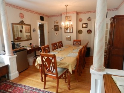 Catskill Lodge - Windham, New York dining room