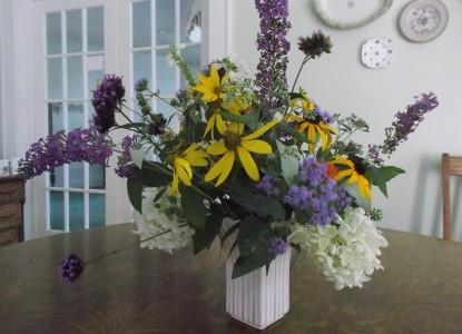 Oak Haven Bed & Breakfast flowers