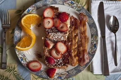 Lighthouse Inn Bed and Breakfast, breakfast