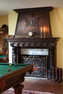 Hamanassett Bed & Breakfast fireplace