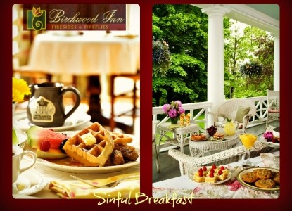 Birchwood Inn, breakfast