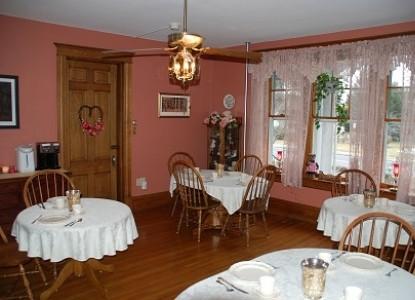 Keystone Inn Bed & Breakfast dining room