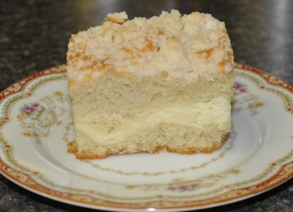 Recipe For Cream Cheese Coffee Cake With Crumble Topping Bed And
