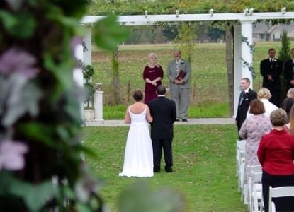 The Abbé House Inn Wedding