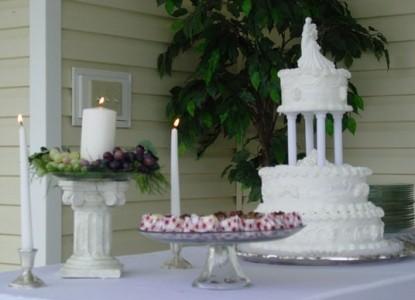 The Abbé House Inn Wedding Cake