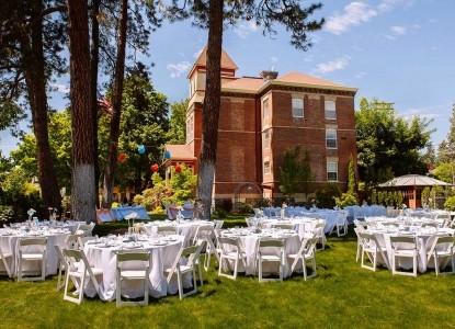 The Roosevelt Inn, courtyard wedding