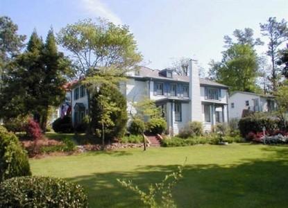 Fuquay Mineral Spring Inn & Garden front of inn