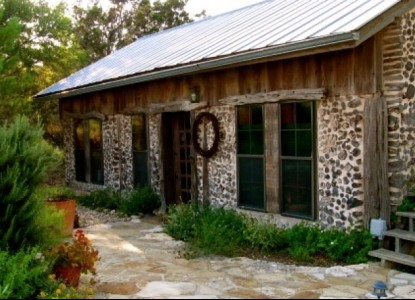 The Cabin on Barton Creek, front view