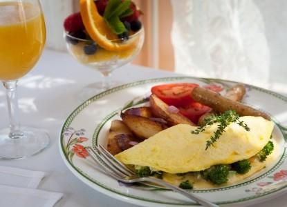 Chesterfield Inn Breakfast