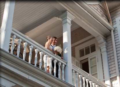 Grand Victorian Bed & Breakfast weddings