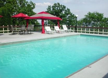The Secret Bed & Breakfast pool