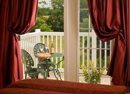 The Inn at Westwynd Farm, patio